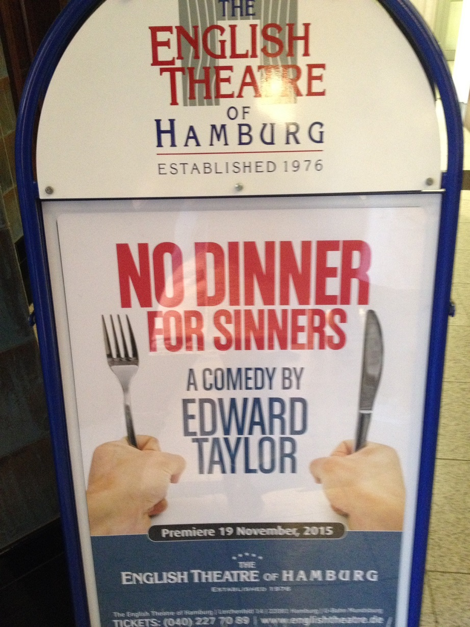 English Theatre – NO DINNER FOR SINNERS