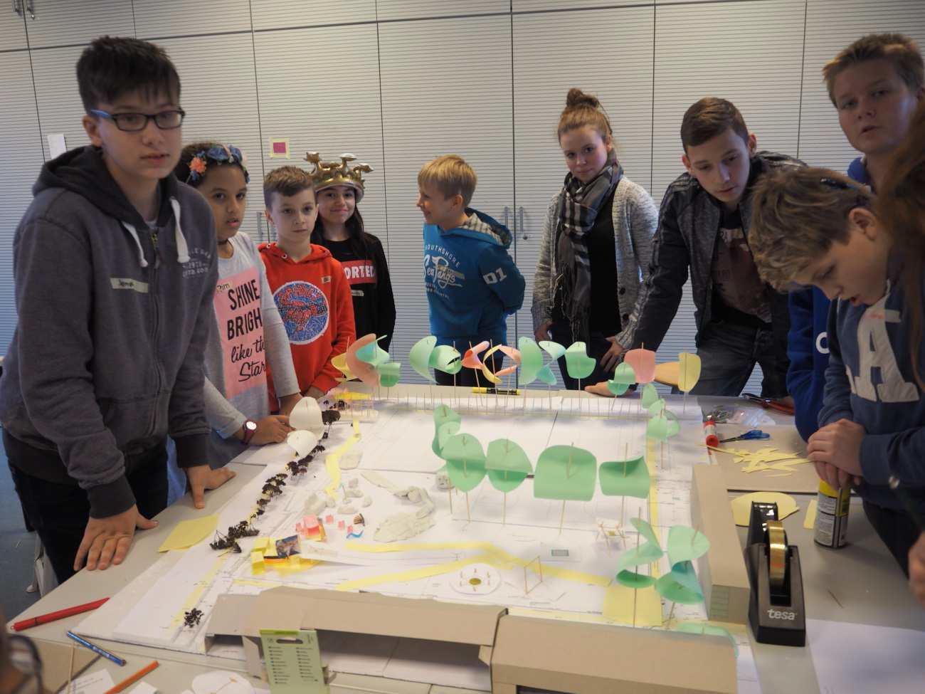 Workshop Schulhofumgestaltung